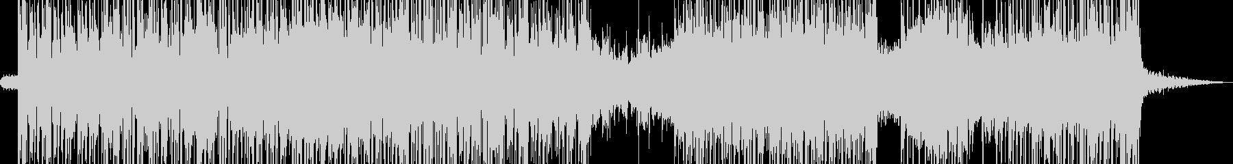アジト・無機質なアグレッシブビート Aの未再生の波形