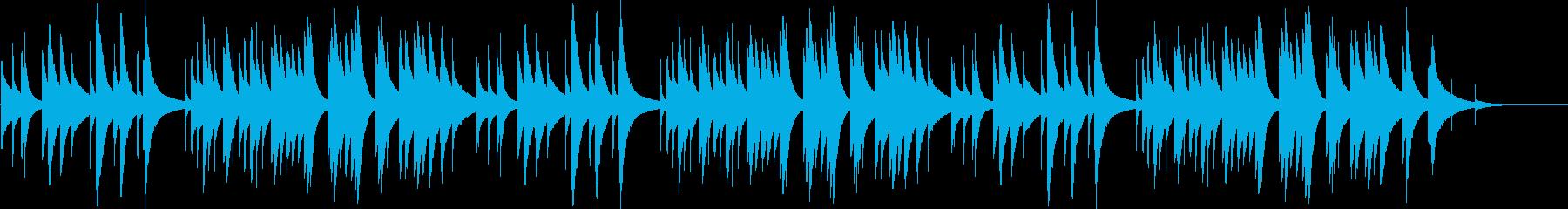 もろびとこぞりて【オルゴール】の再生済みの波形