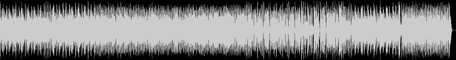 荒野を走るイメージのシンセリードBGMの未再生の波形