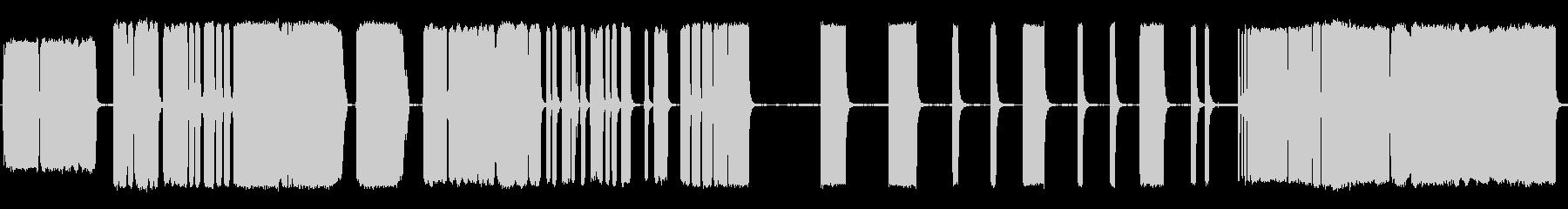 空気圧縮機のヒスの噴出の未再生の波形