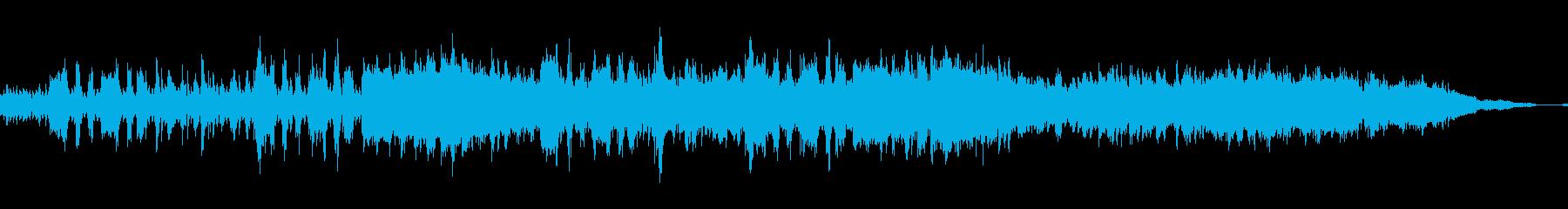 ストリングスと哀愁漂うRPG風の楽曲の再生済みの波形