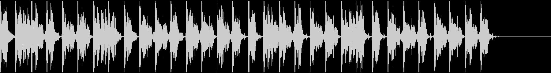 【エレクトロニカ】ロング5、ショート4の未再生の波形
