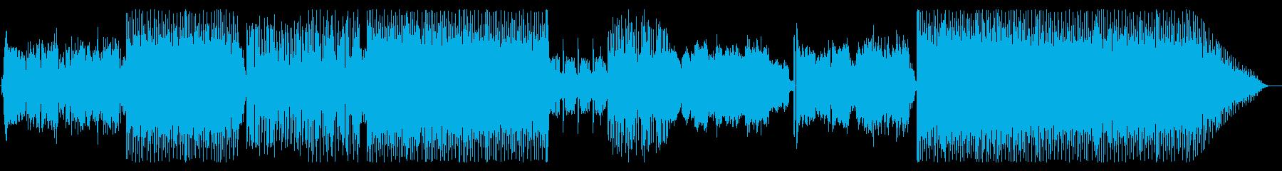 ポジティブポップスの再生済みの波形