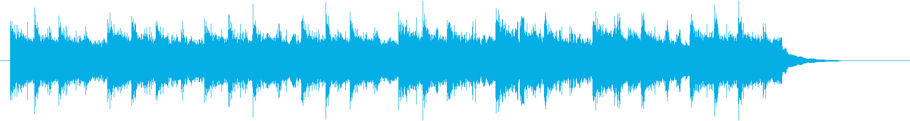 バグパイプのきらきら星<スコットランド>の再生済みの波形