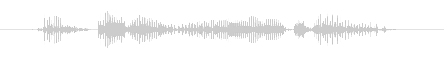 ティーンオスB:意味がわからなかったの未再生の波形