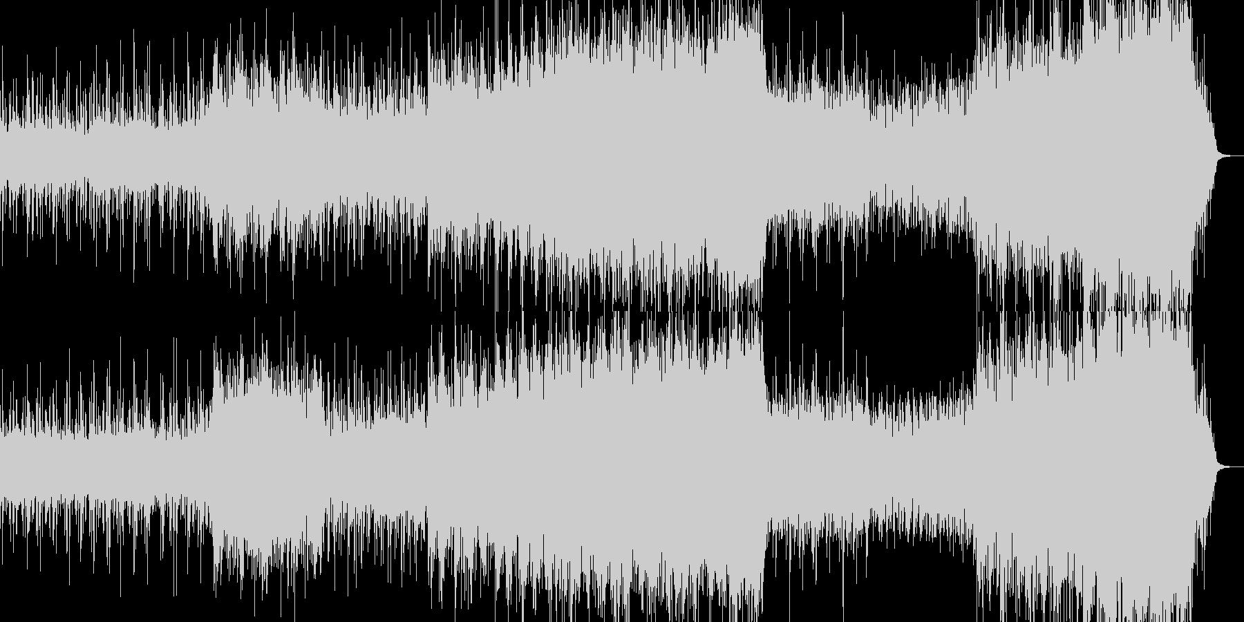 背景的音楽ーDollsの未再生の波形