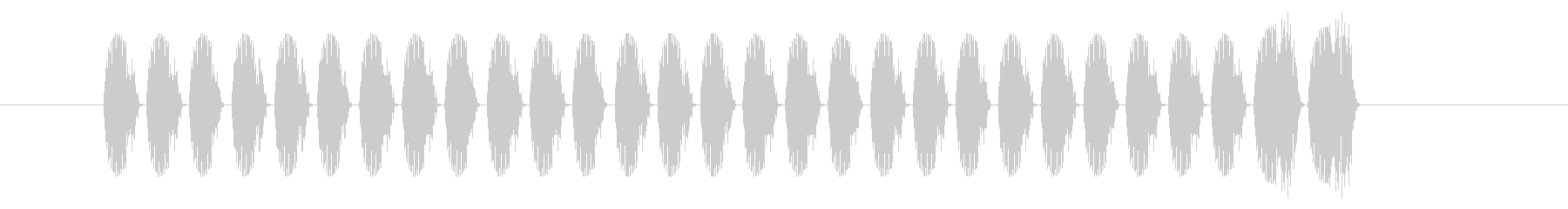 SNES 格闘06-15(スコア)の未再生の波形