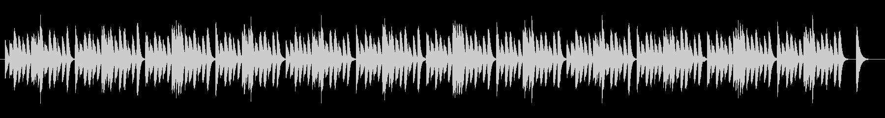 ピアノ/木琴/ほのぼのシンプル日常BGMの未再生の波形
