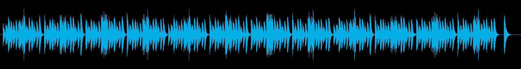 ピアノ/木琴/ほのぼのシンプル日常BGMの再生済みの波形