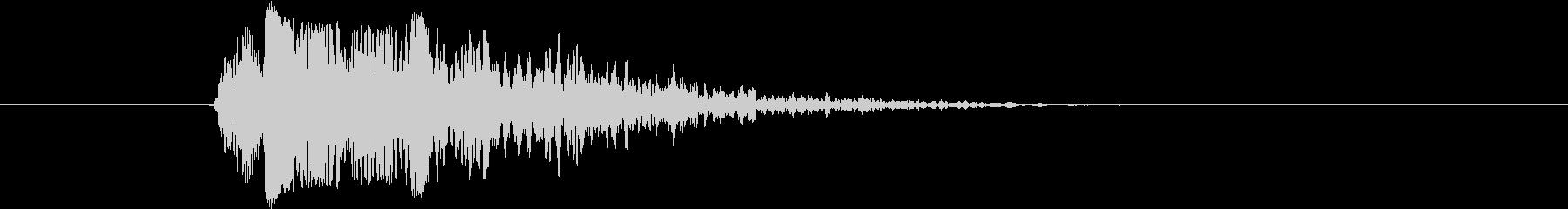 ライフル アサルトライフルファイア05の未再生の波形