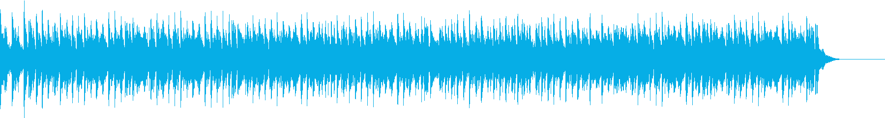 疾走感あふれる中国音楽の再生済みの波形