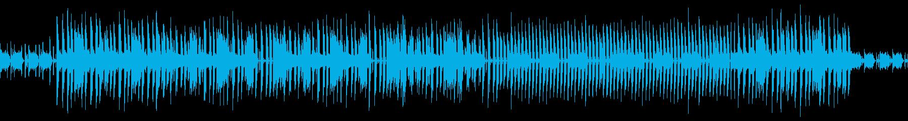 【ループ可】シティポップインストの再生済みの波形