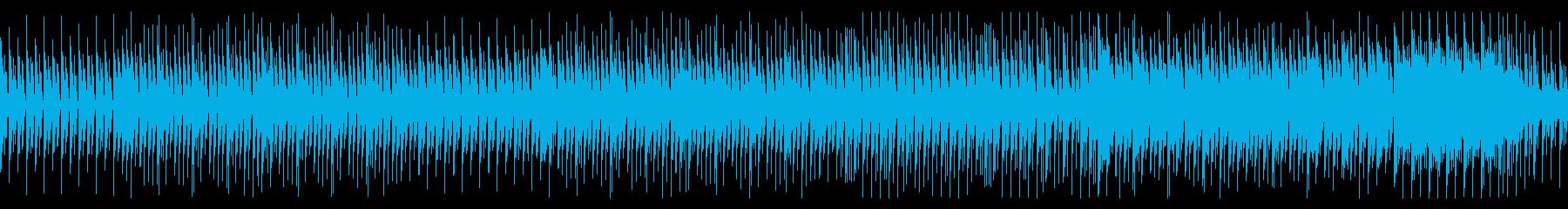 【ループ】いたずらコミカルなハロウィン曲の再生済みの波形
