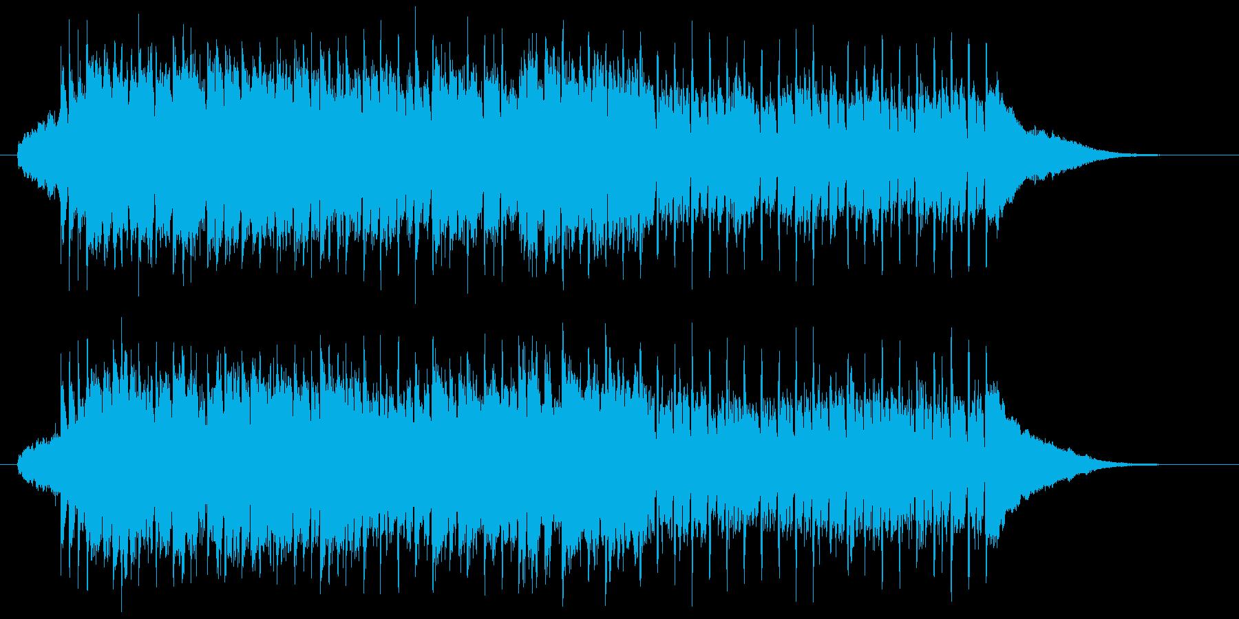 フルートによる爽やかなポップスの再生済みの波形