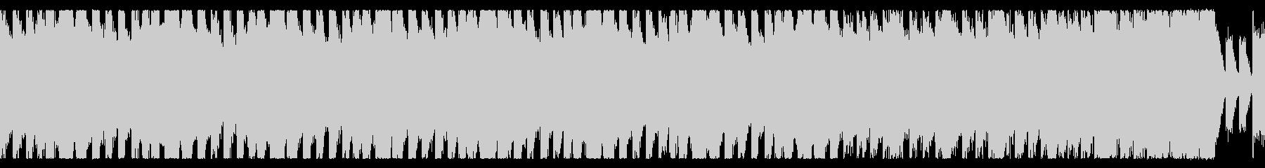 丁度いいダンスミュージックEDM ループの未再生の波形
