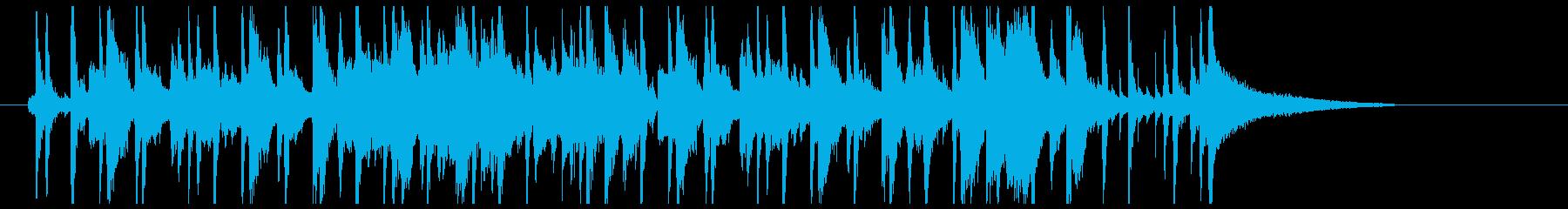 サラサラ ジャズ アクティブ 明る...の再生済みの波形