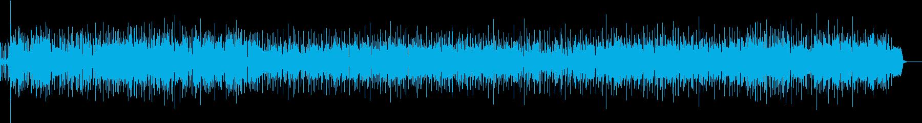 アップテンポのノリの良いブルース!の再生済みの波形