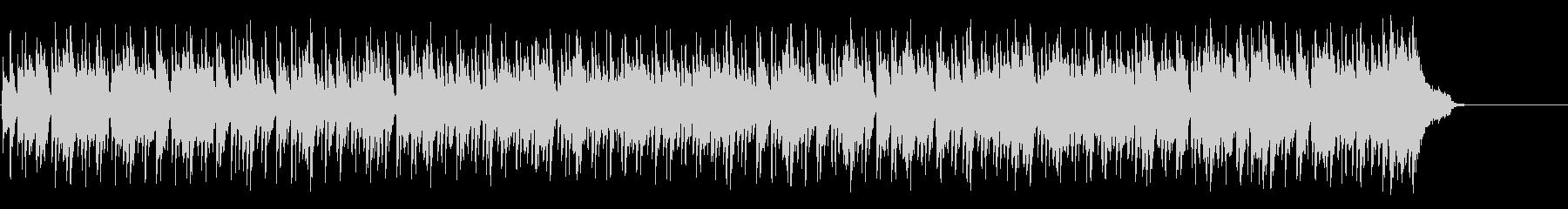 ゴージャスなリゾート風ボサノバ・ポップスの未再生の波形