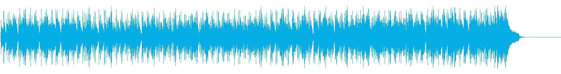 ゴージャスなリゾート風ボサノバ・ポップスの再生済みの波形