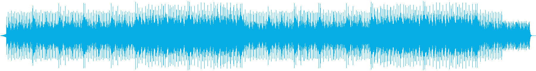 A futuristic and transparent OP! Piano pops's reproduced waveform
