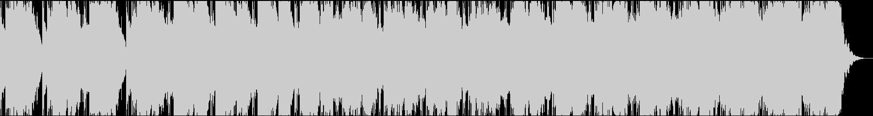 幻想的な笙の音色がする和風曲の未再生の波形