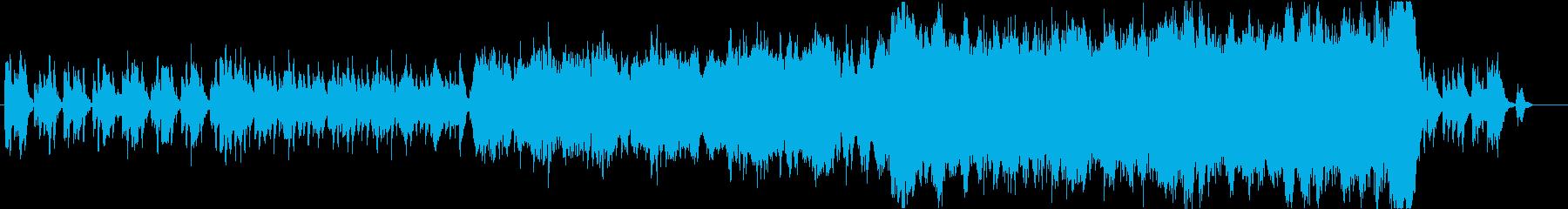 ワルツ/ファンタジー系壮大なオーケストラの再生済みの波形