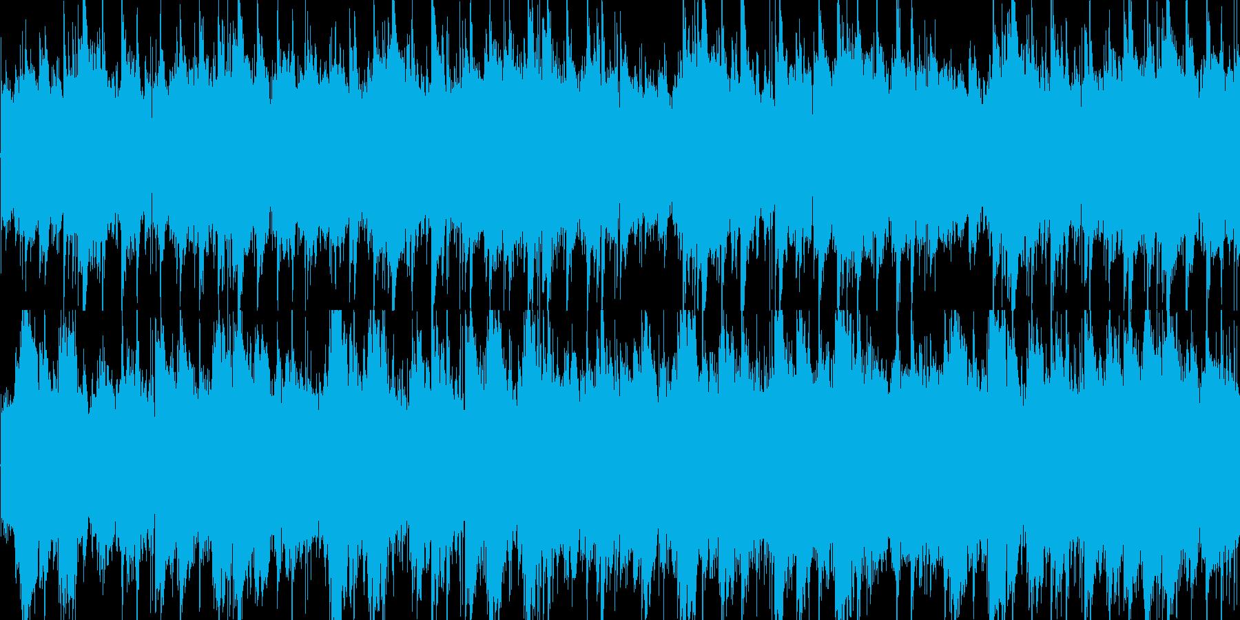 スローで癒しのアコギサウンドの再生済みの波形