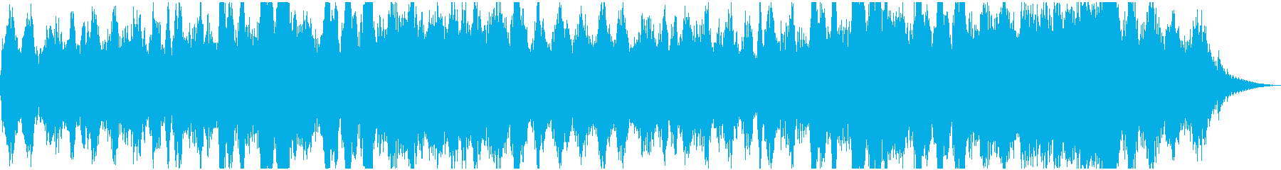 シンセサイザーと肉声で作る神秘的な地平線の再生済みの波形