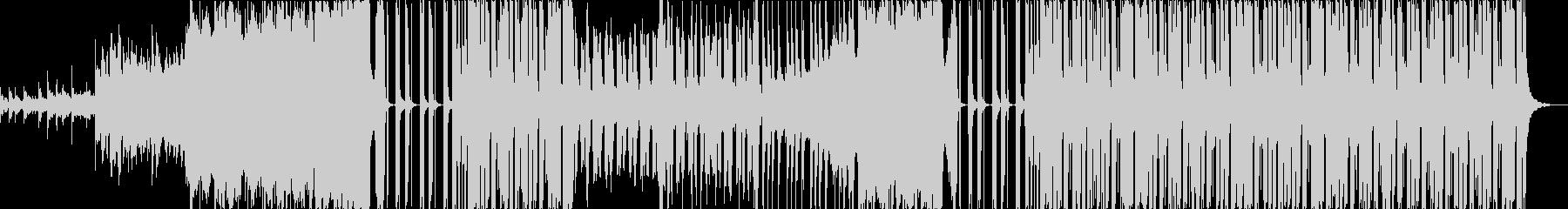 しっとり落ち着いたエレクトロの未再生の波形