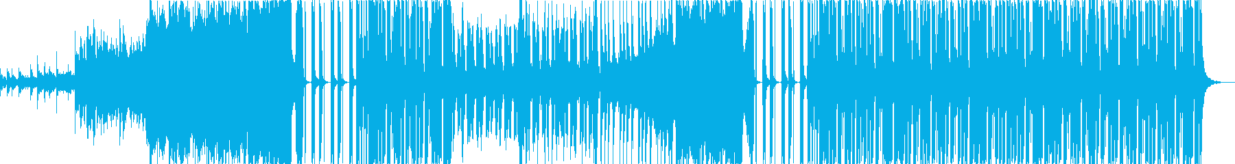 しっとり落ち着いたエレクトロの再生済みの波形