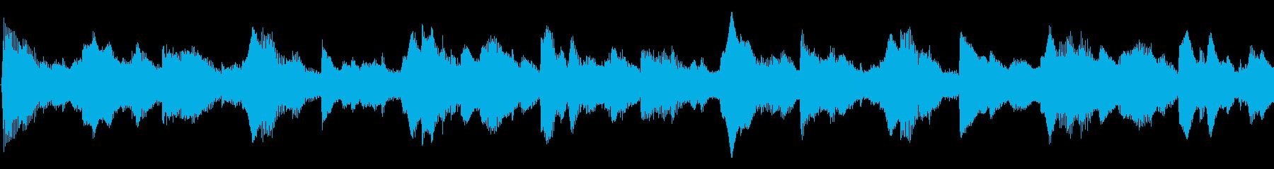 アンビエント シンセサイザー ドキ...の再生済みの波形
