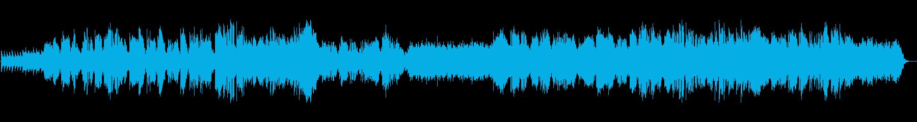 ジャズコードでおしゃれでアンニュイな曲の再生済みの波形