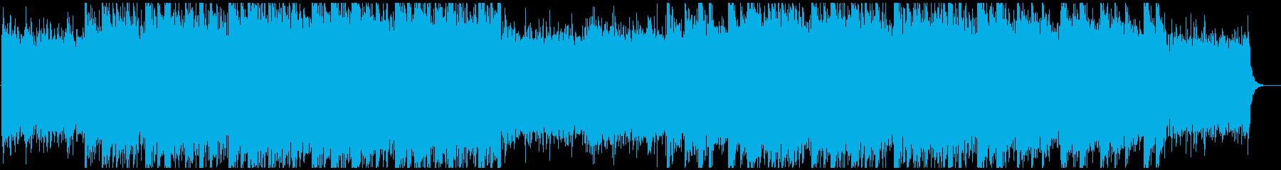 ギターのアルペジオが印象的なヒーリングの再生済みの波形