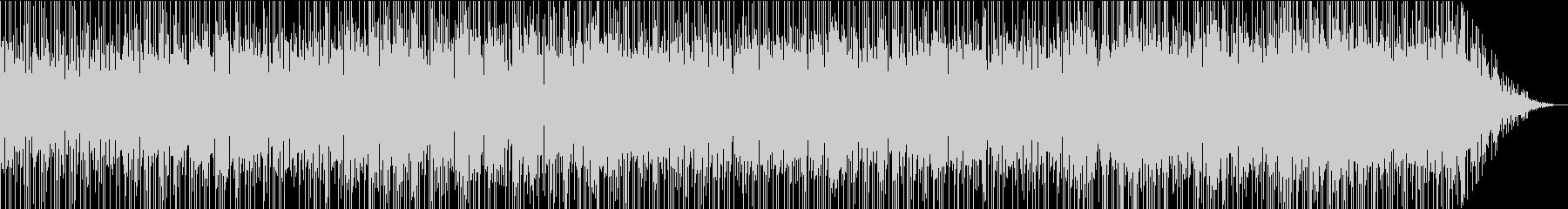 アルトサックスが印象的なドライブBGMの未再生の波形