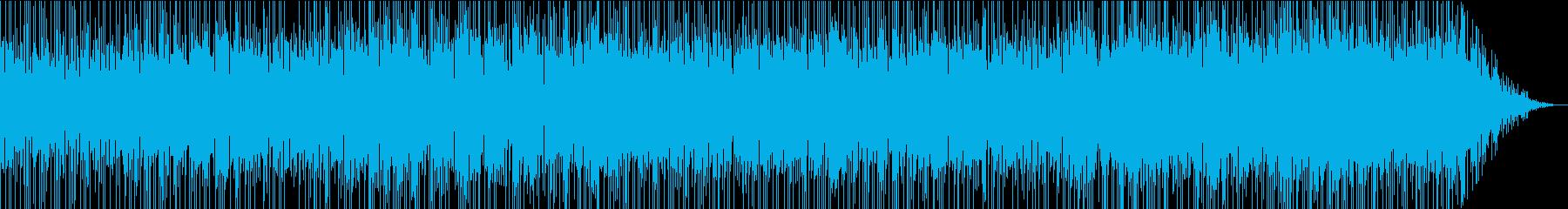 アルトサックスが印象的なドライブBGMの再生済みの波形