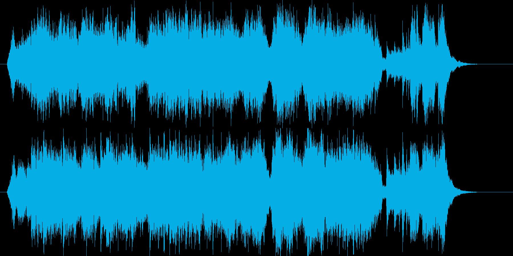 悠長でメロディアスなクラシカルジングルの再生済みの波形