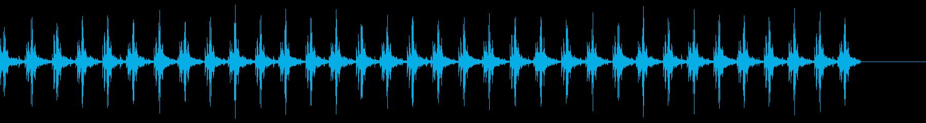 点火エンジン----アイドル-屋内の再生済みの波形