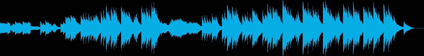 厳粛な静けさが漂うクラシカルなエレピの再生済みの波形