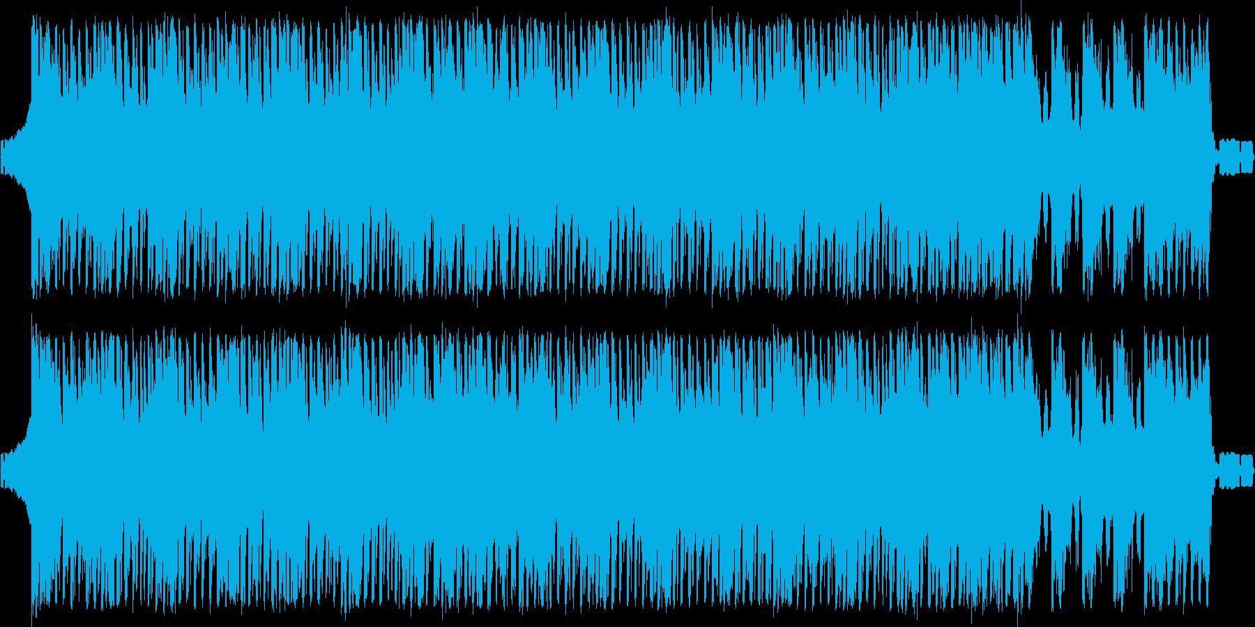 ダンスロックでピコピコ。の再生済みの波形