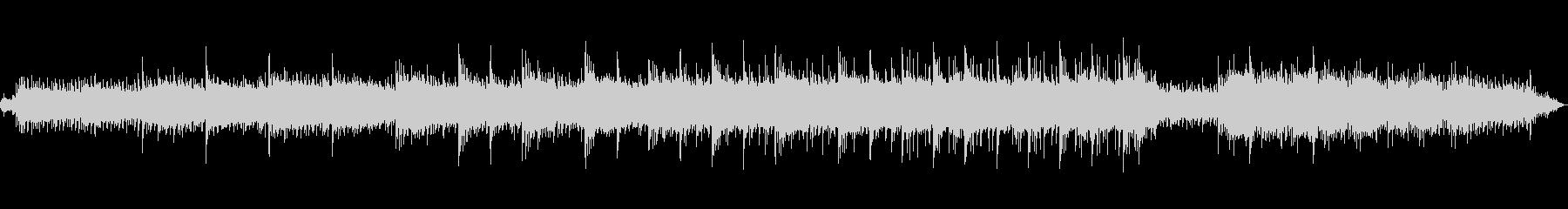 ピアノと水音によるヒーリングミュージックの未再生の波形