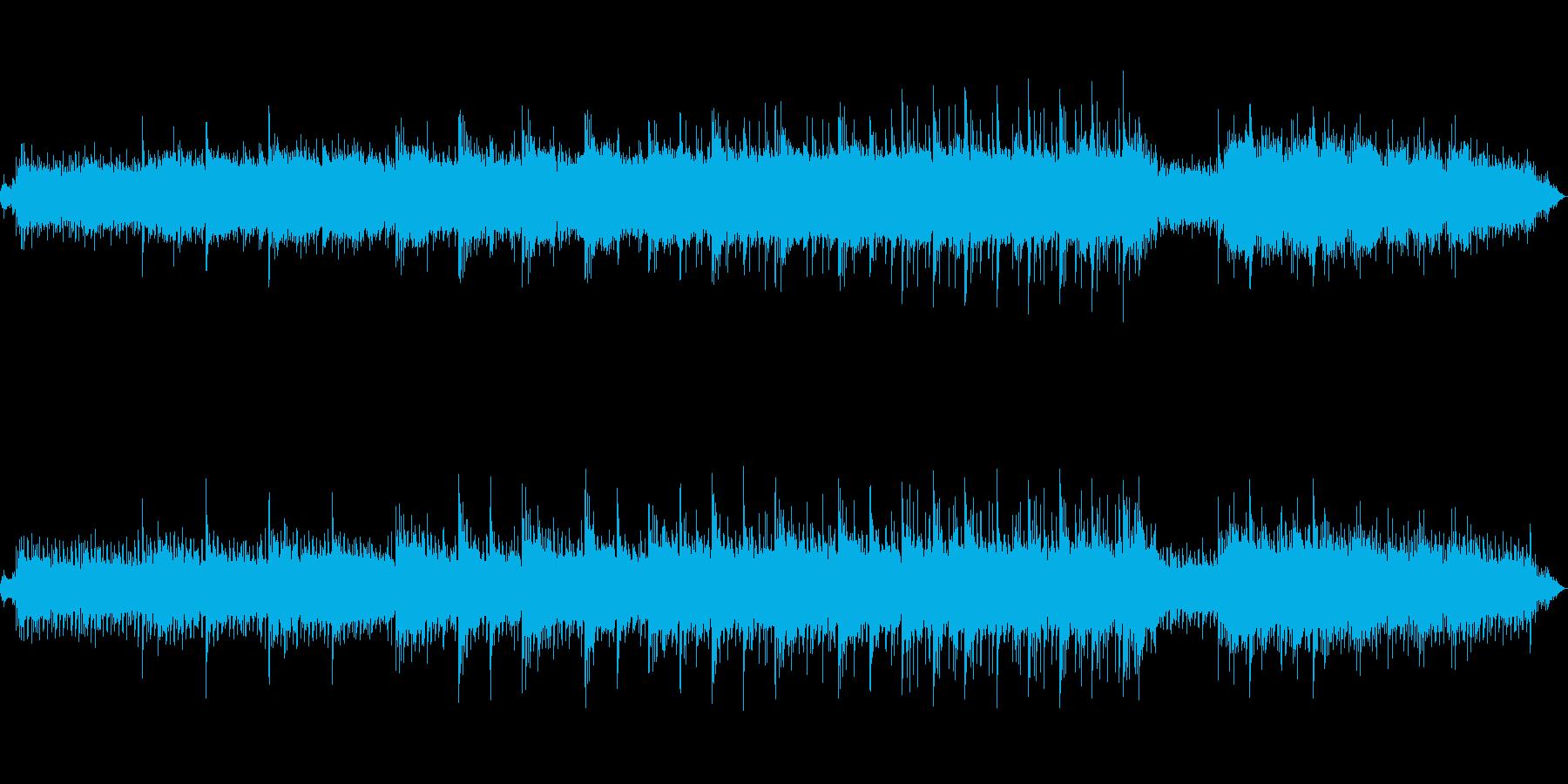 ピアノと水音によるヒーリングミュージックの再生済みの波形