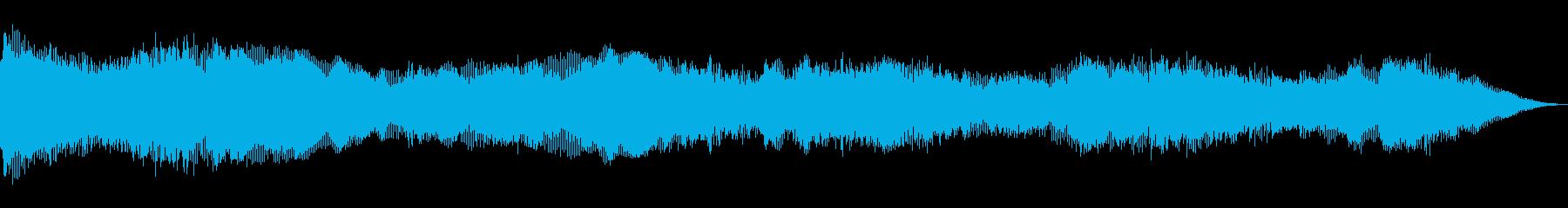 不吉なパワードローンの再生済みの波形
