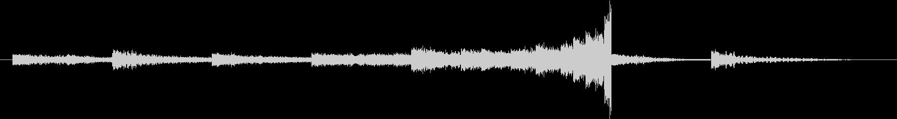 アンビエント ドラマチック 金管楽器の未再生の波形