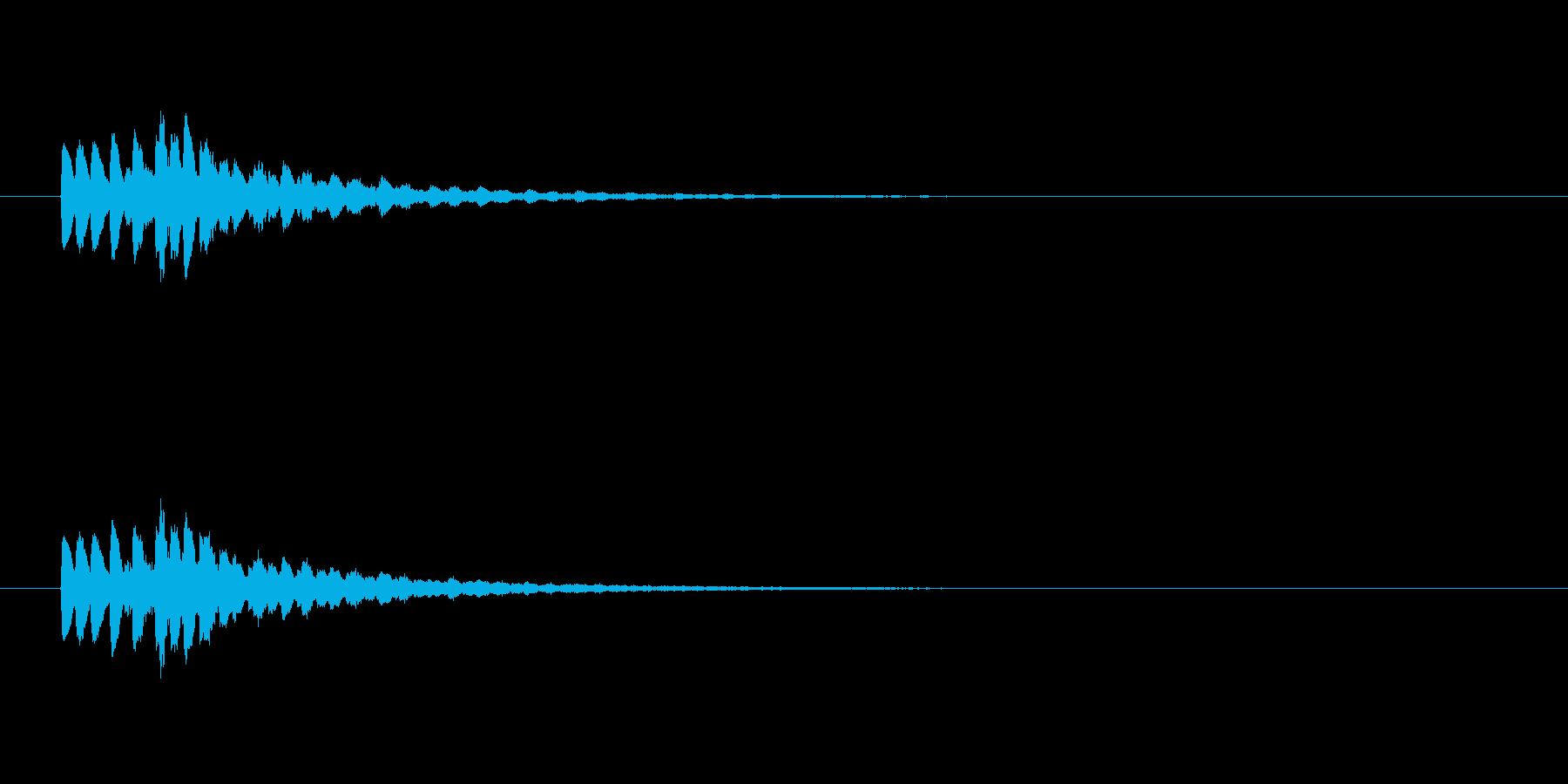 【ショートブリッジ17-6】の再生済みの波形