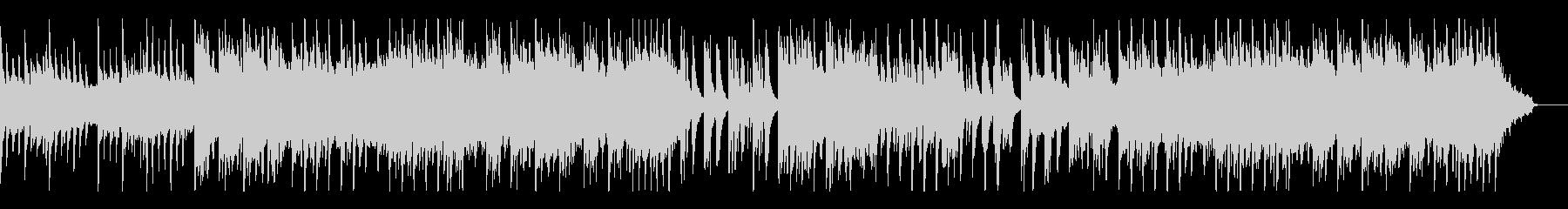 ピアノとシンセパッドによるシンプルなBGの未再生の波形