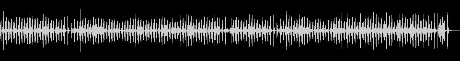 ほのぼの可愛い日常曲/ピアノ/鉄琴の未再生の波形