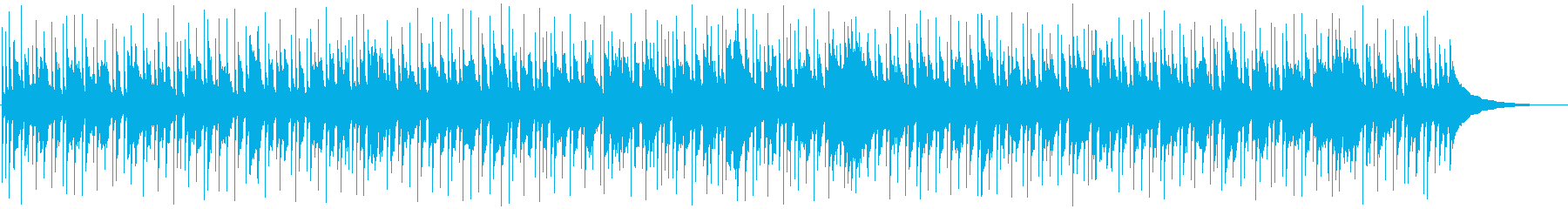 アコギ主体の陽気で爽やかお散歩曲bの再生済みの波形