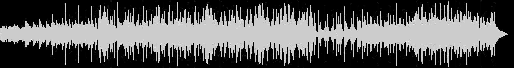 明るいフォークギターポップス:ピアノ抜きの未再生の波形