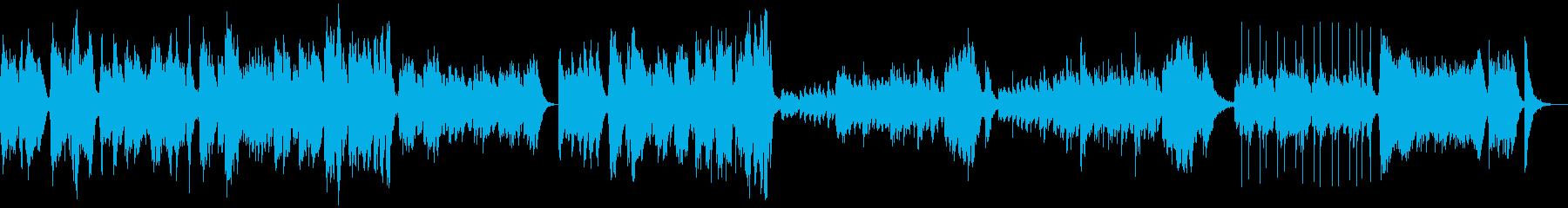 オーケストラ楽器。ノスタルジックな...の再生済みの波形