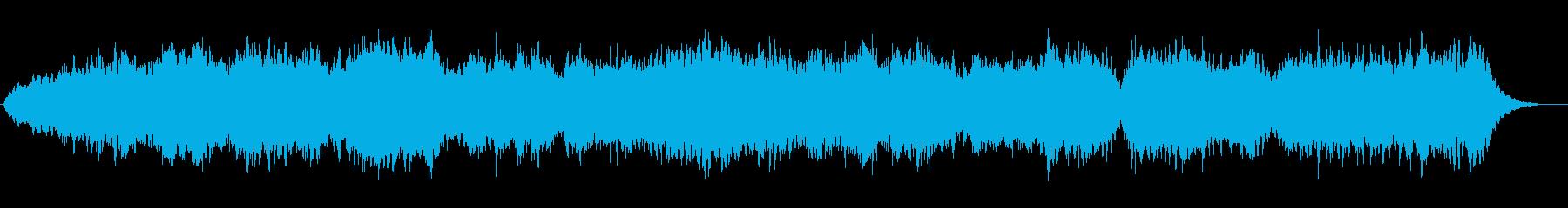 深い安らぎへ導くリラクゼーション音楽の再生済みの波形